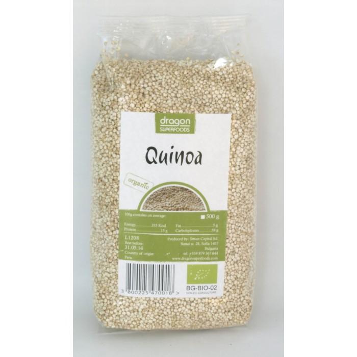 Quinoa alba bio (300 g), Dragon Superfoods