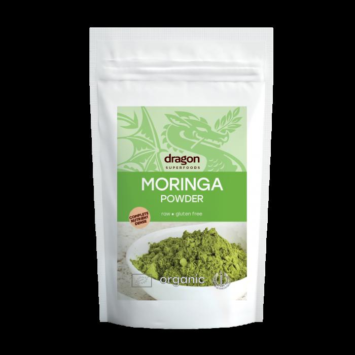 Moringa pudra bio (200 grame), Dragon Superfoods