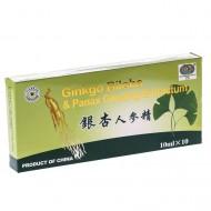 Ginkgo Biloba & Panax Ginseng extract (10 fiole), Sanye Intercom