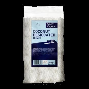 Miez de nuca de cocos macinat bio (200 g), Smart Organic