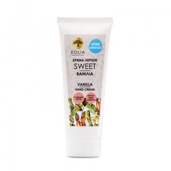 Crema de maini organica cu aroma de vanilie (75 ml), Eolia Cosmetics