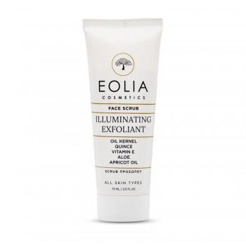 Face scrub organic (75 ml), Eolia Cosmetics
