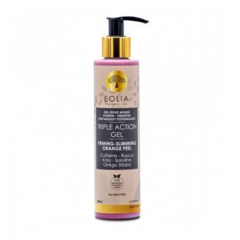 Gel anticelulitic organic cu actiune tripla (200 ml), Eolia Cosmetics