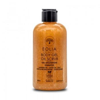 Gel scrub natural pentru corp (250 ml), Eolia Cosmetics