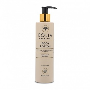 Lotiune de corp naturala cu acid hialuronic si bambus himalayan (250 ml), Eolia Cosmetics
