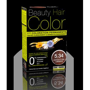 Beauty Hair - Vopsea de par 5.34 Saten deschis luminos, Eric Favre
