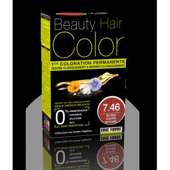 Beauty Hair -  Vopsea de par 7.46 Blond Roscat Intens, Eric Favre