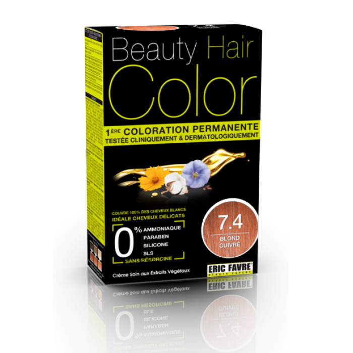 Beauty Hair - Vopsea de par 7.4 Blond maron cald