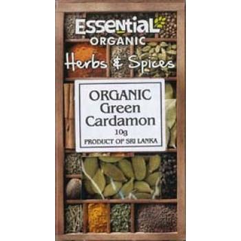 Cardamom verde intreg bio (10 grame), Essential