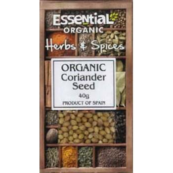 Coriandru intreg bio (40 grame), Essential