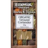 Coriandru macinat bio (40 grame), Essential