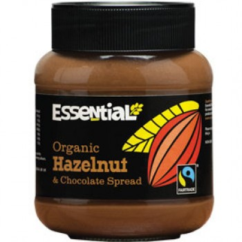 Crema tartinabila cu alune de padure, ciocolata bio fairtrade (400g), Essential