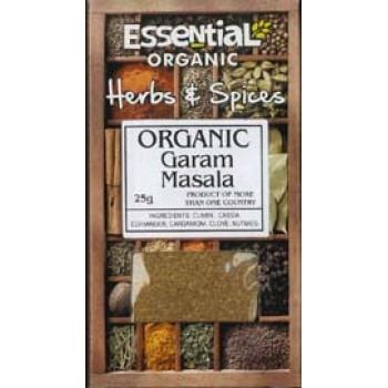 Garam masala bio (25 grame), Essential