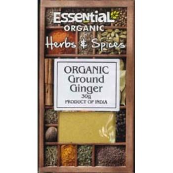 Ghimbir macinat bio (30 grame), Essential
