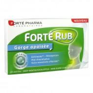 Forte Rub Gorge Pastile de gat (20 tablete), Forte Pharma