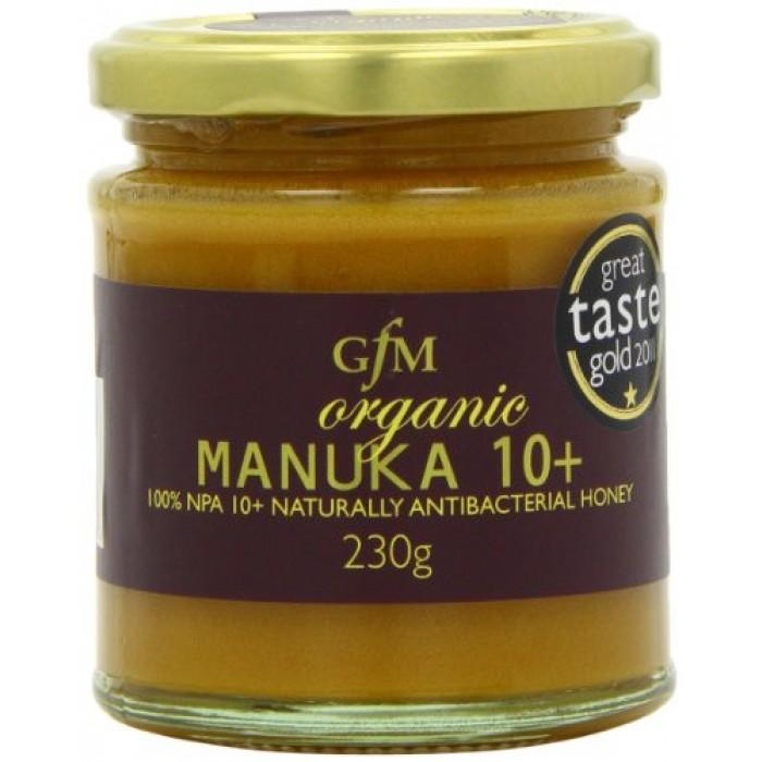 Miere de Manuka +10 raw bio (230 grame), GFM