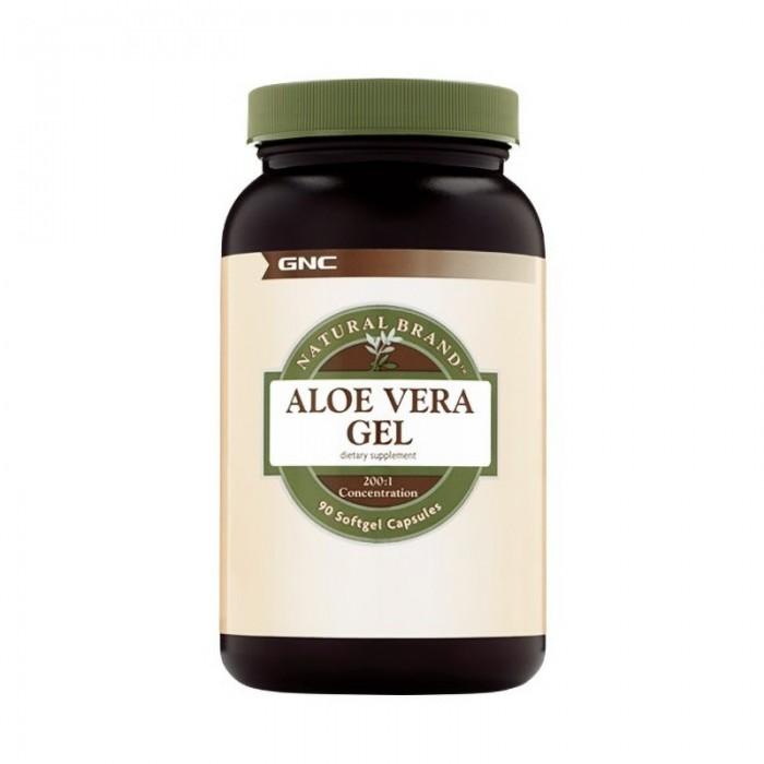 Aloe vera gel (90 capsule), GNC Natural Brand