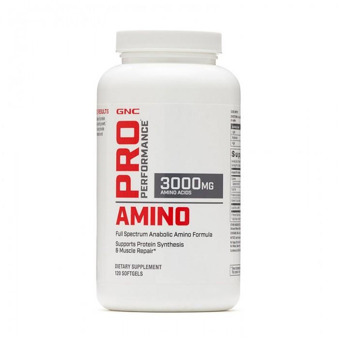 Amino 3000 Aminoacizi (120 capsule), GNC Pro Performance