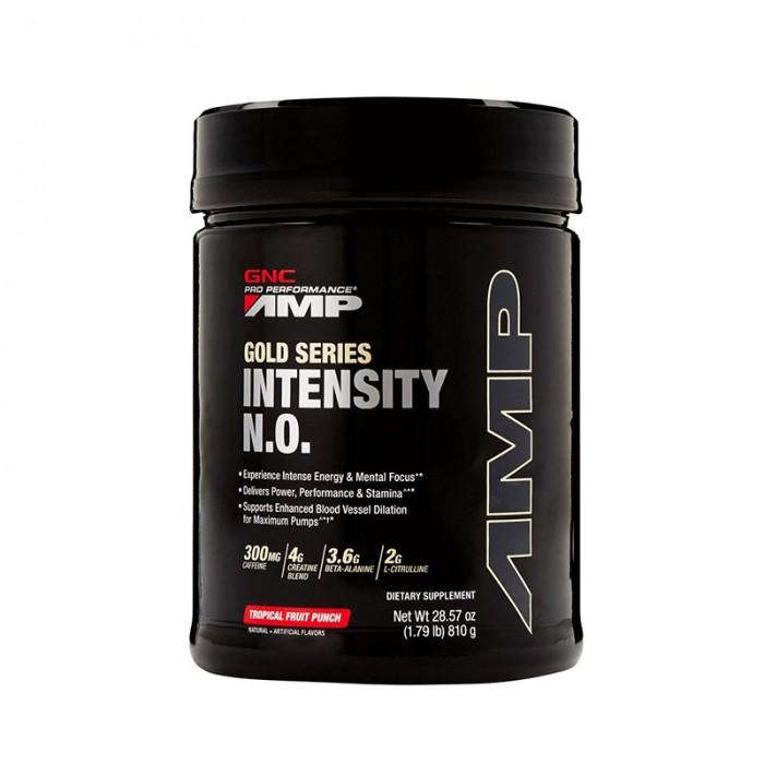 AMP Intensity NO Pre-workout cu aroma de punch de fructe tropicale (810 grame), GNC Pro Performance