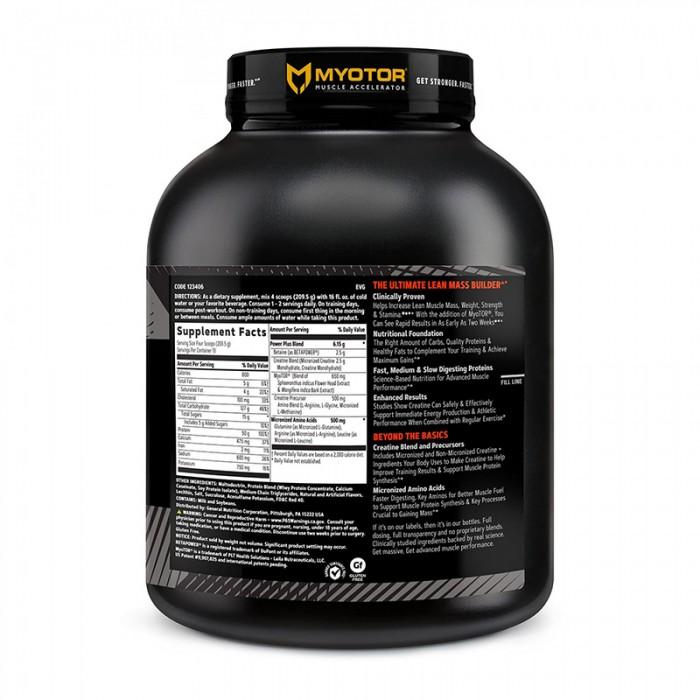 AMP Mass XXX Proteina din zer cu aroma de capsuni (2724 grame), GNC