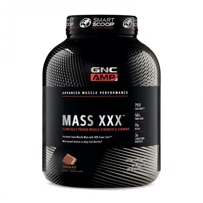 AMP Mass XXX Proteina din zer cu aroma de ciocolata (2812.27 grame), GNC