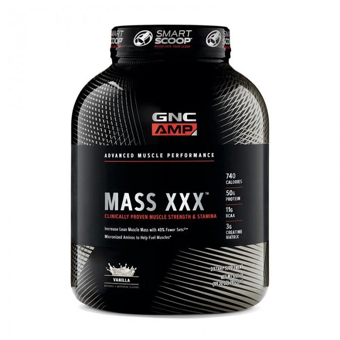 AMP Mass XXX Proteina din zer cu aroma de vanilie (2812.27 grame), GNC