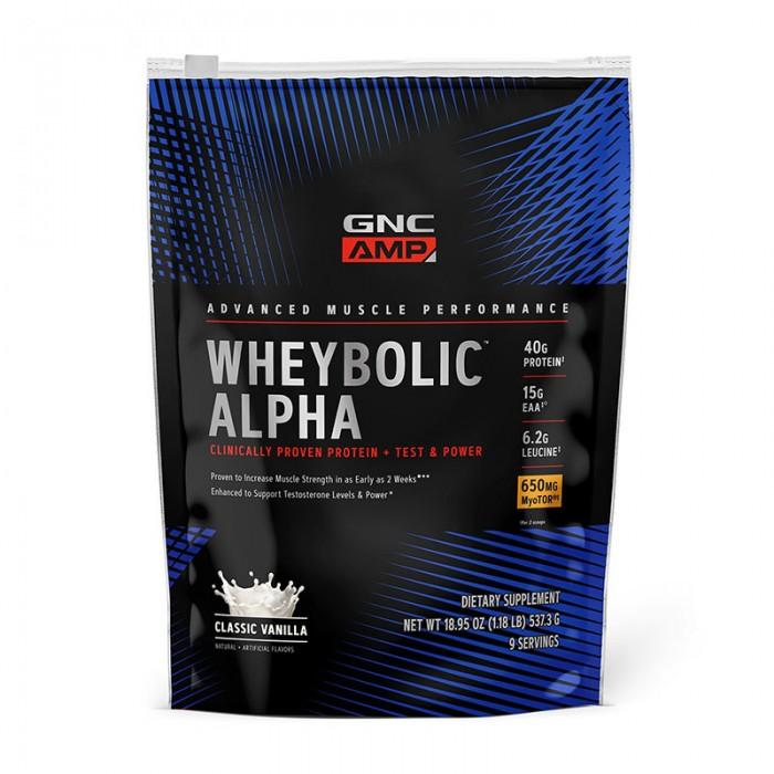 AMP Wheybolic Alpha Proteina cu aroma de vanilie (594 grame), GNC
