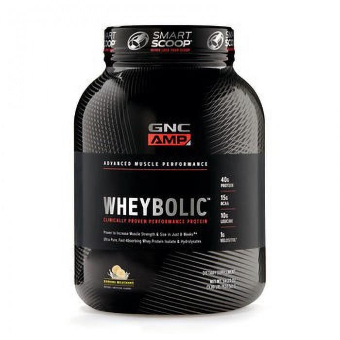 AMP Wheybolic Proteina cu aroma de banane (1537.50 grame), GNC