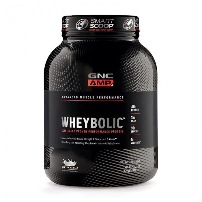 AMP Wheybolic Proteina cu aroma de vanilie (1537.5 grame), GNC