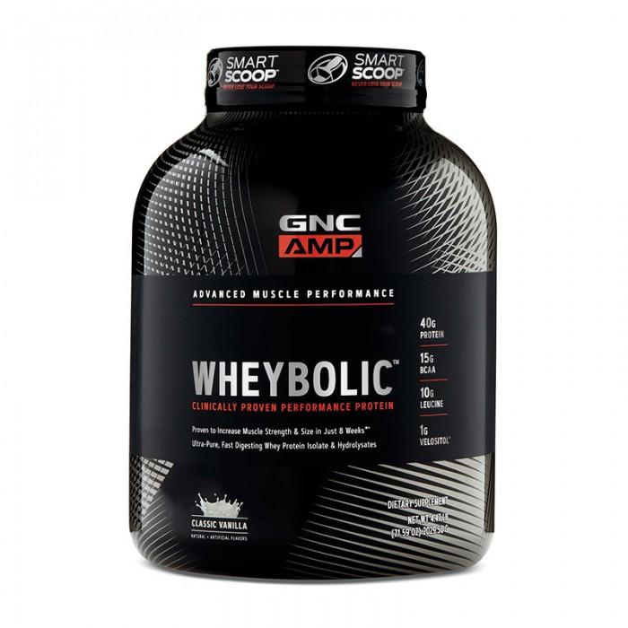 AMP Wheybolic Proteina cu aroma de vanilie (2029.5 grame), GNC