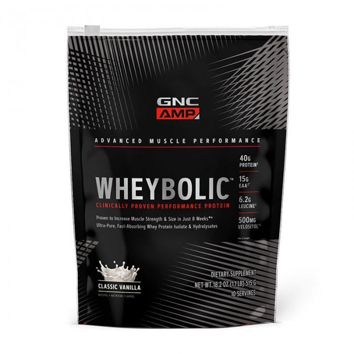 AMP Wheybolic Proteina cu aroma de vanilie (615 grame), GNC