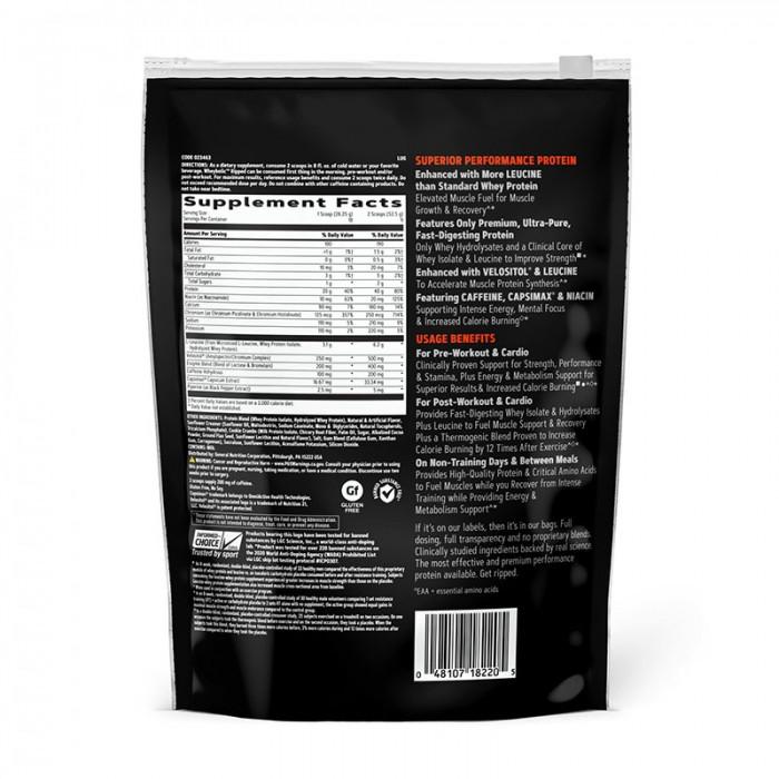 AMP Wheybolic Ripped Proteina cu aroma de biscuiti si frisca (585 grame), GNC