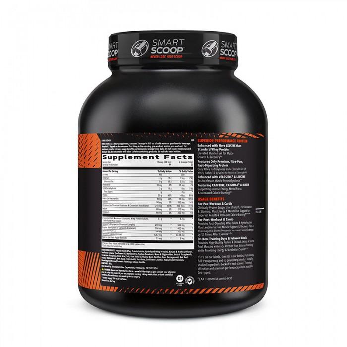 AMP Wheybolic Ripped Proteina cu aroma de capsuni (1166 grame), GNC