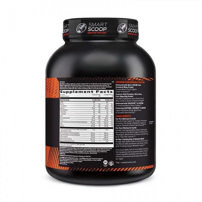 AMP Wheybolic Ripped Proteina cu aroma de ciocolata (1205.6 grame), GNC