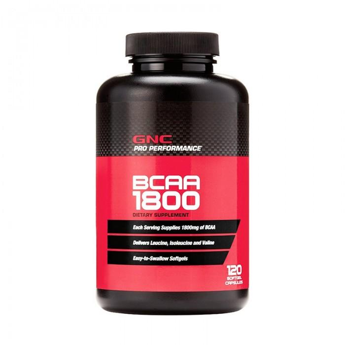 BCAA 1800 Aminoacizi (120 capsule), GNC Pro Performance