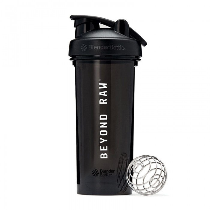 Beyond Raw Pro28 Shaker negru (600 ml), GNC