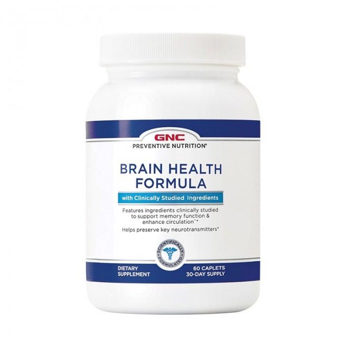 Formula pentru sanatatea sistemului nervos (60 capsule), GNC Preventive Nutrition