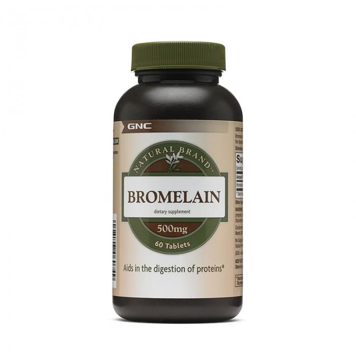 Bromelaina 500 mg (60 capsule), GNC Natural Brand
