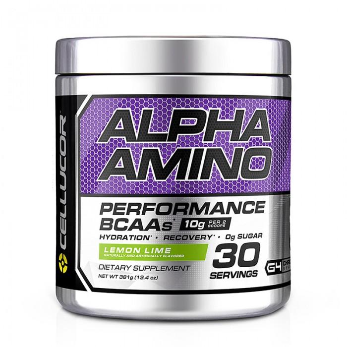 Cellucor Alpha Amino Aminoacizi cu aroma de lamaie si lime (381 grame), GNC