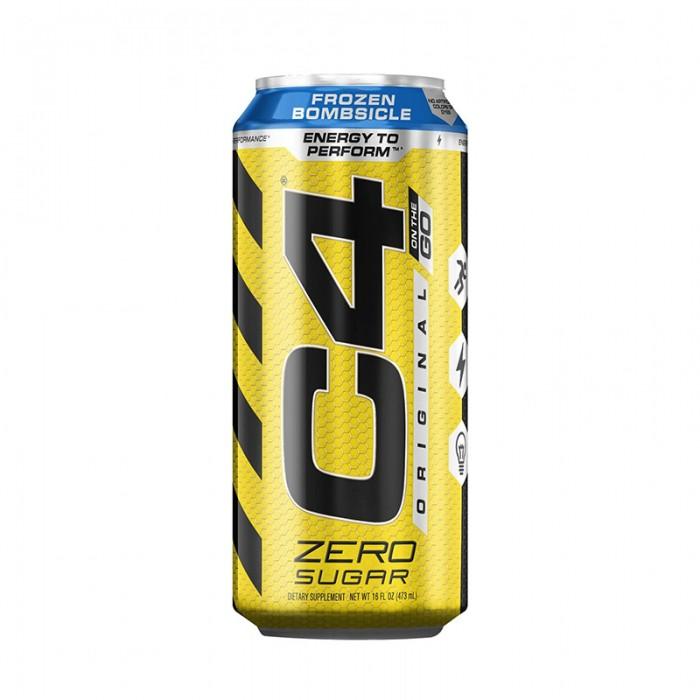 Cellucor C4 Original On The Go Bautura energizanta cu aroma de frozen bombsicle (473 ml), GNC