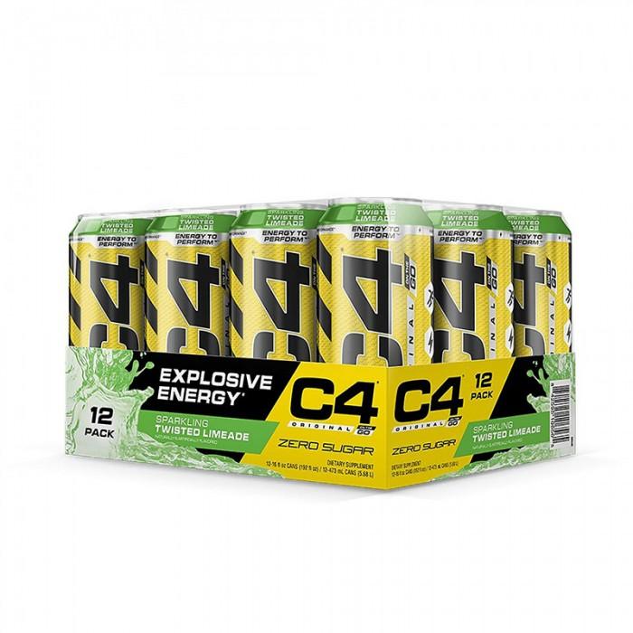 Cellucor C4 Original On The Go Bautura energizanta cu aroma de limonada (473 ml), GNC