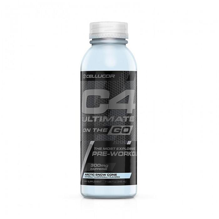Cellucor C4 Ultimate On The Go Bautura energizanta cu aroma de artic snow cone (345 ml), GNC