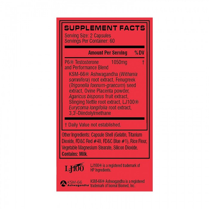 Cellucor P6 Original (120 capsule), GNC