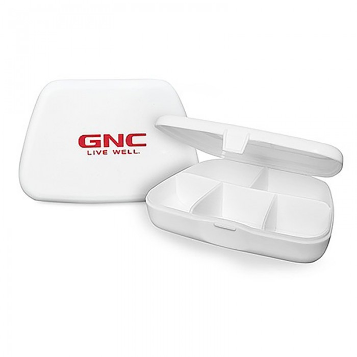 Cutie depozitare capsule si tablete, GNC