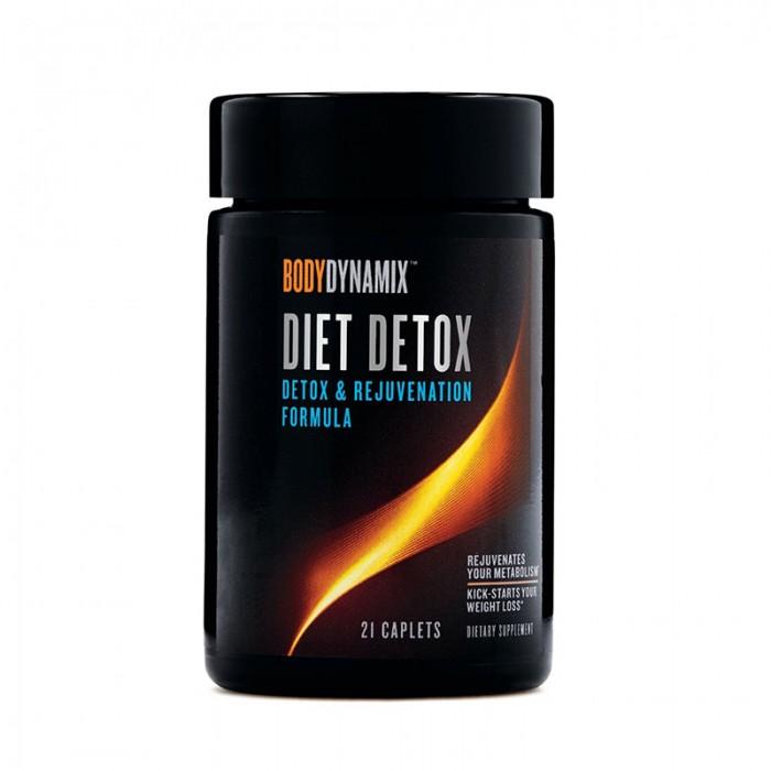 Diet Detox Formula pentru detoxifierea organismului (21 capsule), GNC BodyDynamix