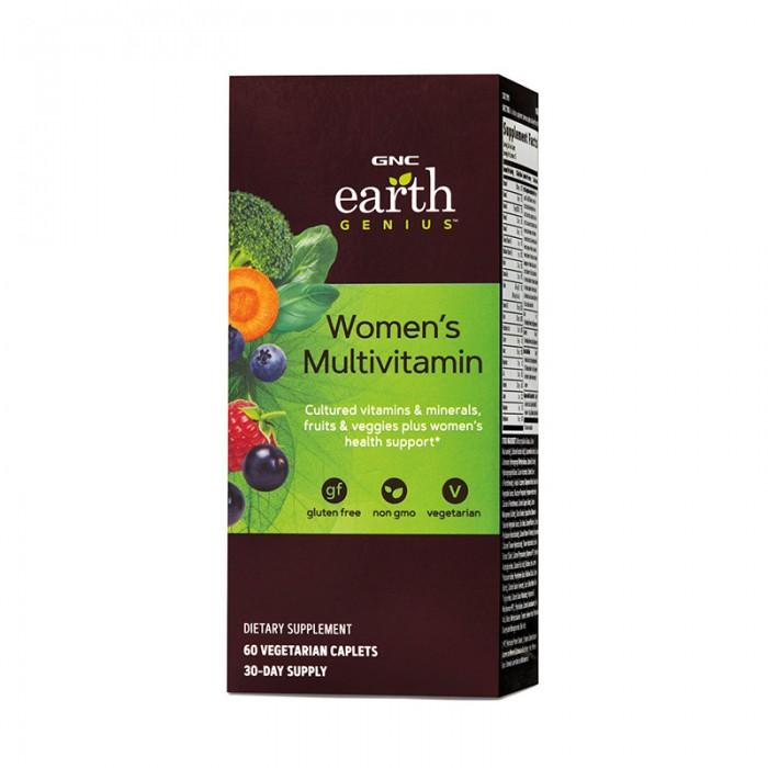Multivitamine pentru femei (60 tablete), GNC Earth Genius