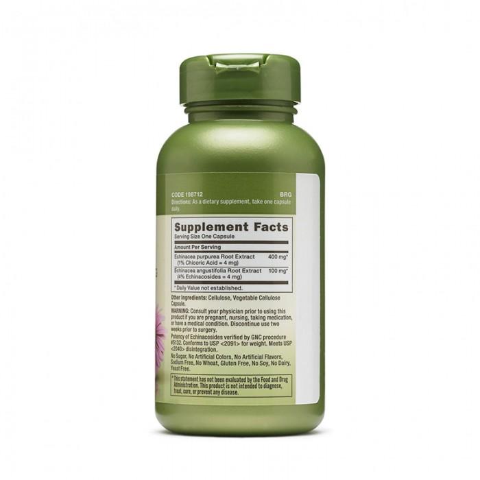 Extract de echinacea 500 mg (100 tablete), GNC Herbal Plus