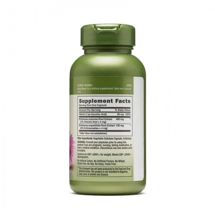 Echinacea si Vitamina C (60 capsule), GNC Herbal Plus