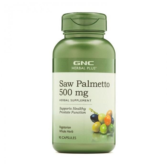 Extract de palmier pitic 500 mg (90 capsule), GNC Herbal Plus