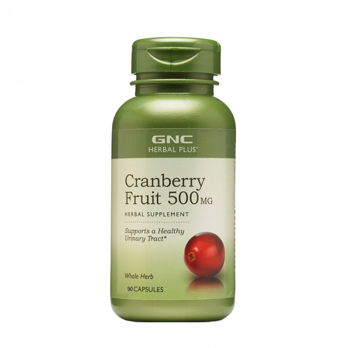 Extract din fruct de merisor 500 mg (90 capsule), GNC Herbal Plus